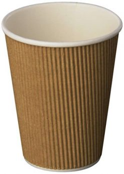 Minima 16oz 500 Count Compostable Hot Cups – 100 BPI CERTIFIED Biodegradable