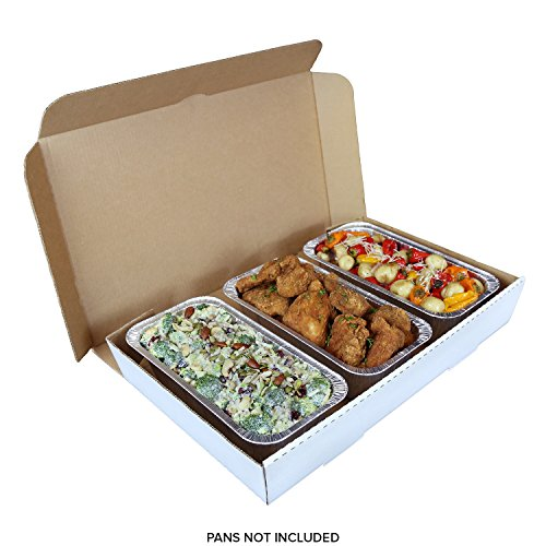 Buy Full Pan White 21 x 13 x 3 Corrugated Catering Box Case of