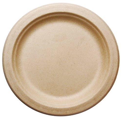 Buy Bagasse - Natural Sugarcane Fibers (Bamboo) HARVEST PACK Seven (7 ) inch (in) Round Disposable Plates Compostable Eco Friendly Environmental Paper ...  sc 1 st  Discount Compostable Products : eco friendly disposable plates - pezcame.com