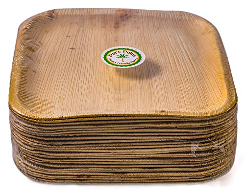 Pure Palm Planet Friendly Plates; Upscale Disposable Dinnerware; All-Natural Eco-Friendly Compostable Plateware  sc 1 st  Discount Compostable Products & Pure Palm Planet Friendly Plates; Upscale Disposable Dinnerware; All ...