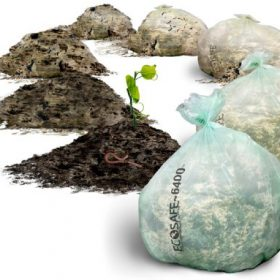 compostable lawn & leaf bags