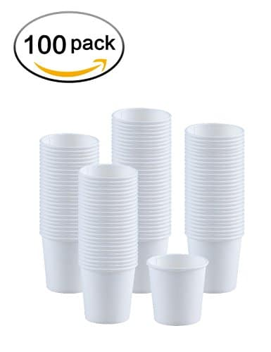 Kindpack Disposable Paper Cups 4oz Cup 100 Count White Hot Coffee Bathroom Single Now Only 11 99