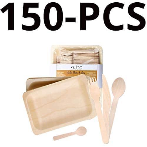 100 Disposable WOODEN ICE CREAM SPOONS TASTING SAMPLING Biodegradable
