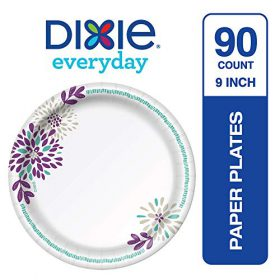 Buy Dixie Everyday Disposable Paper Plates, 8-1/2